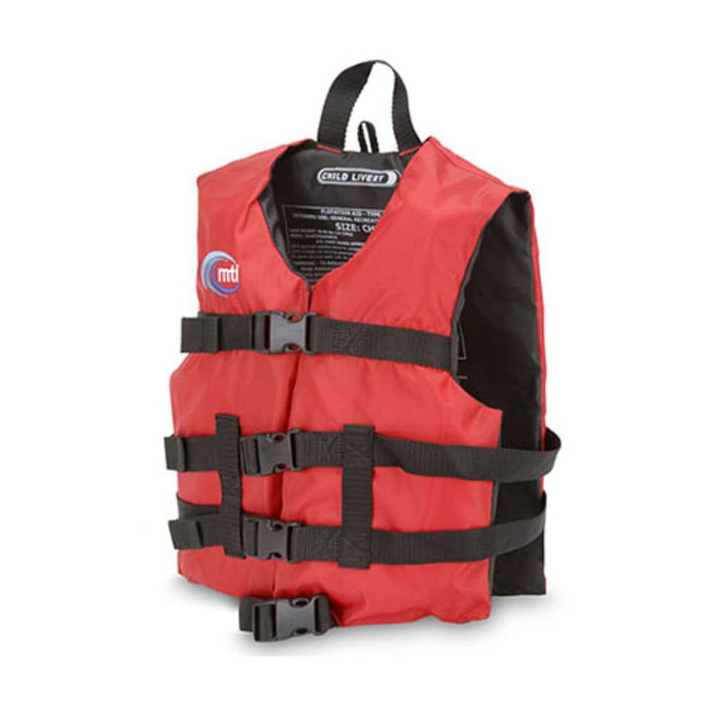 MTI Child Livery PFD, 30-50 lb. - RED