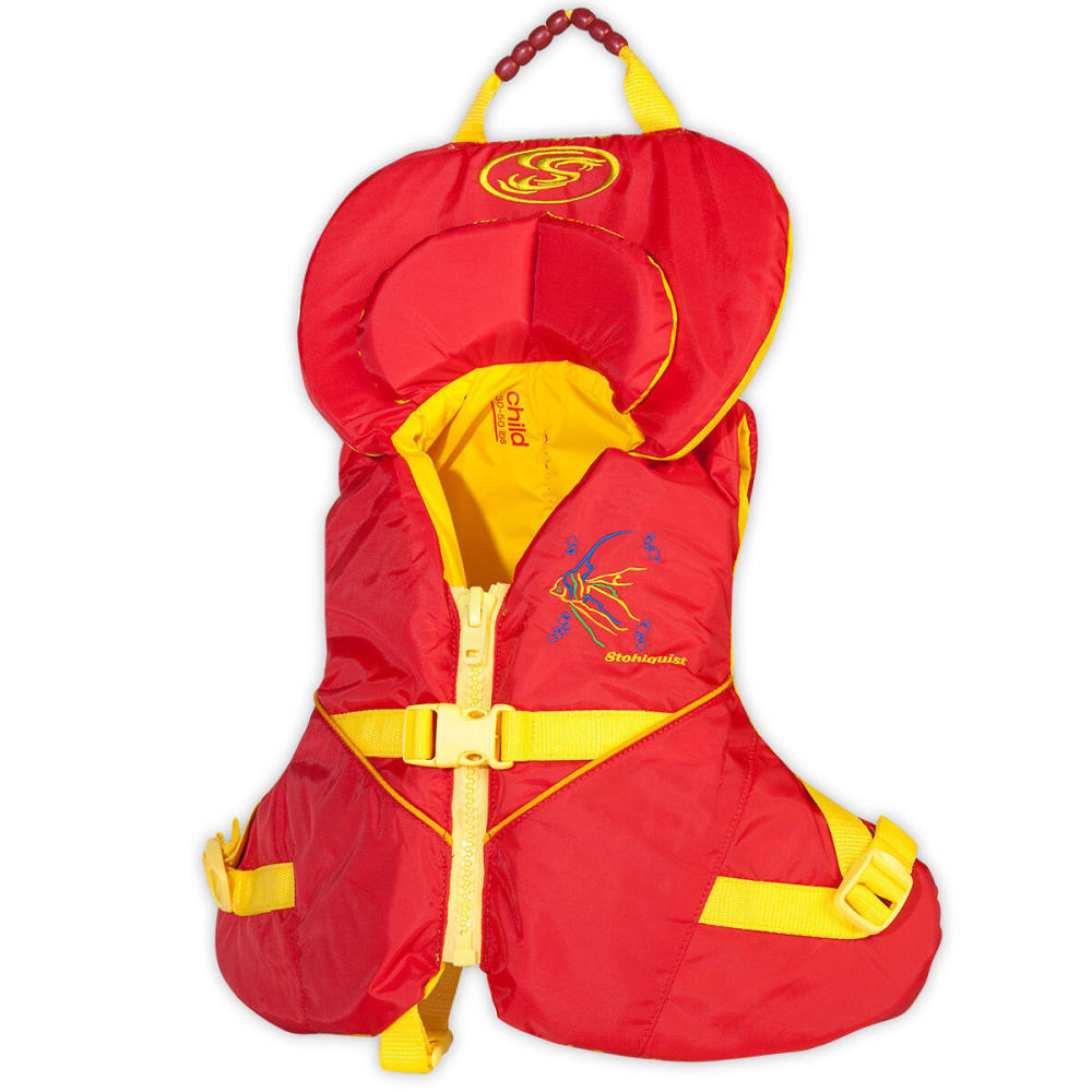 STOHLQUIST Nemo Child Life Vest, 30-50 lb. - RED