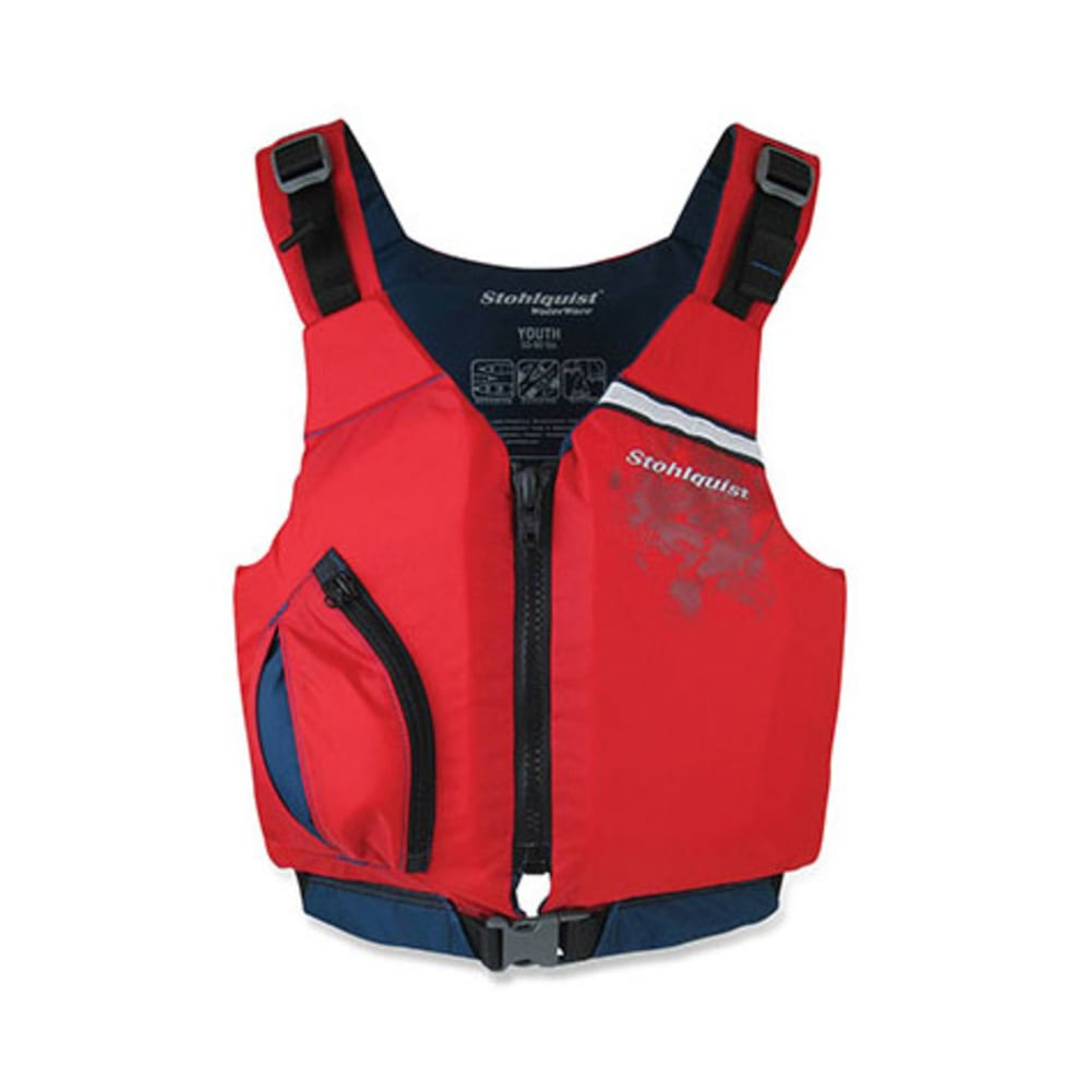 STOHLQUIST Youth Escape PFD - RED