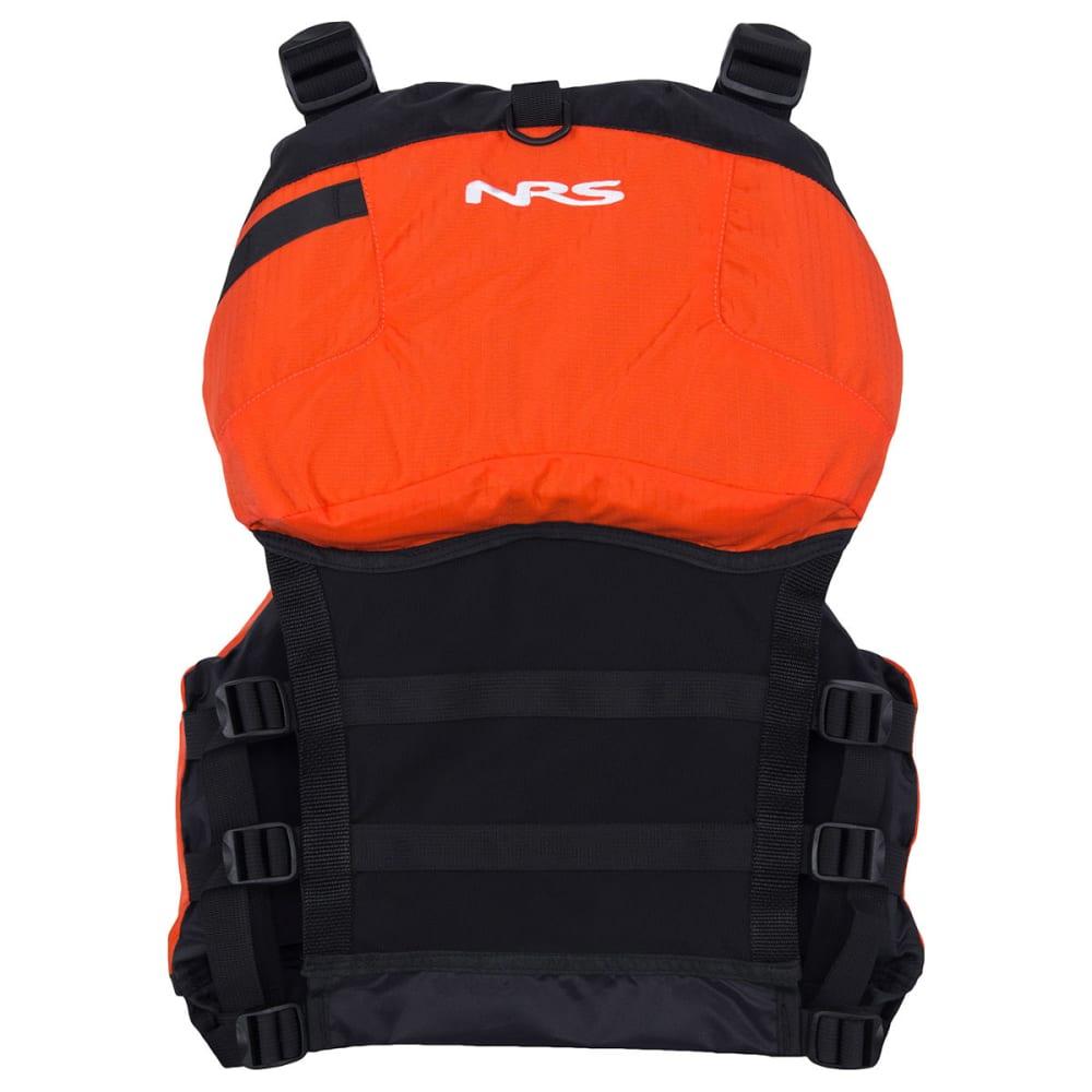 NRS Chinook Mesh Back Fishing PFD - ORANGE