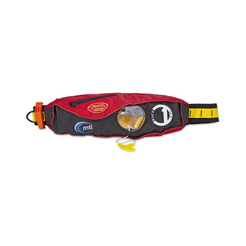 MTI Race 1 Belt Pack Inflatable PFD - RED