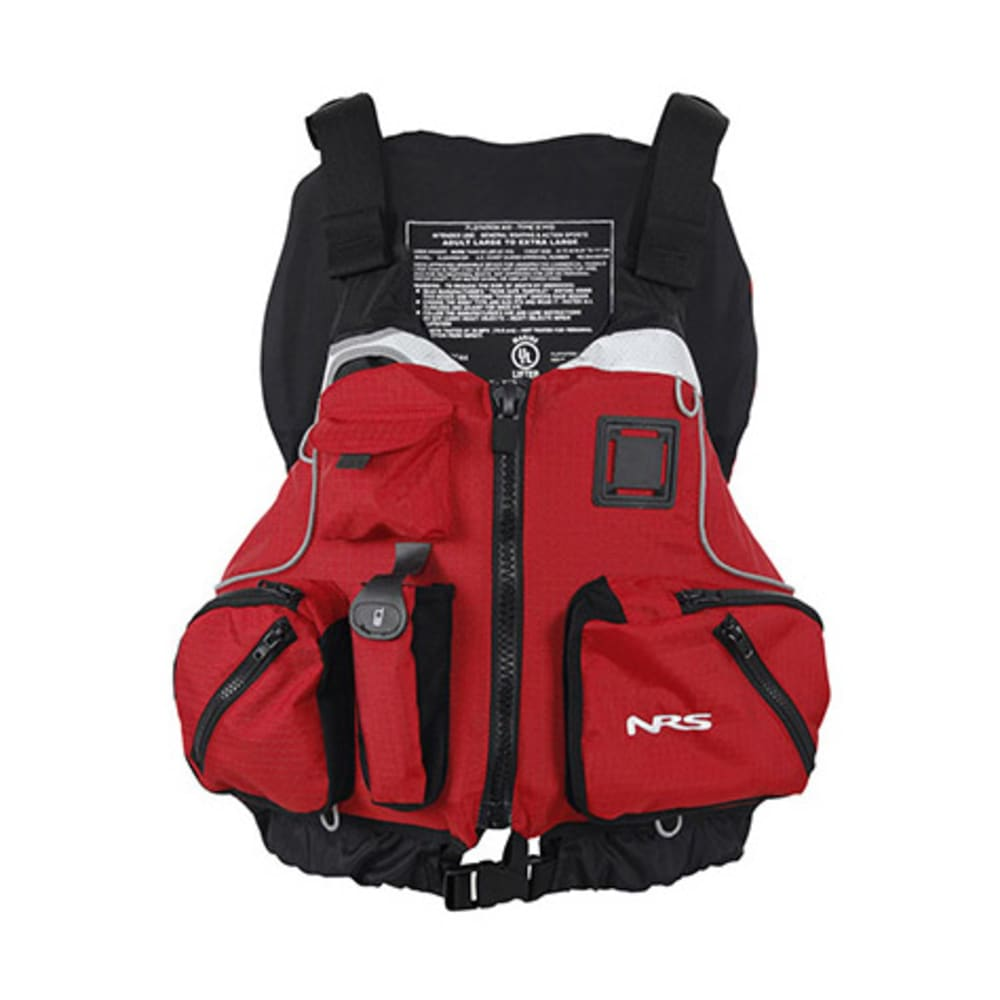NRS cVest Mesh Back PFD - RED