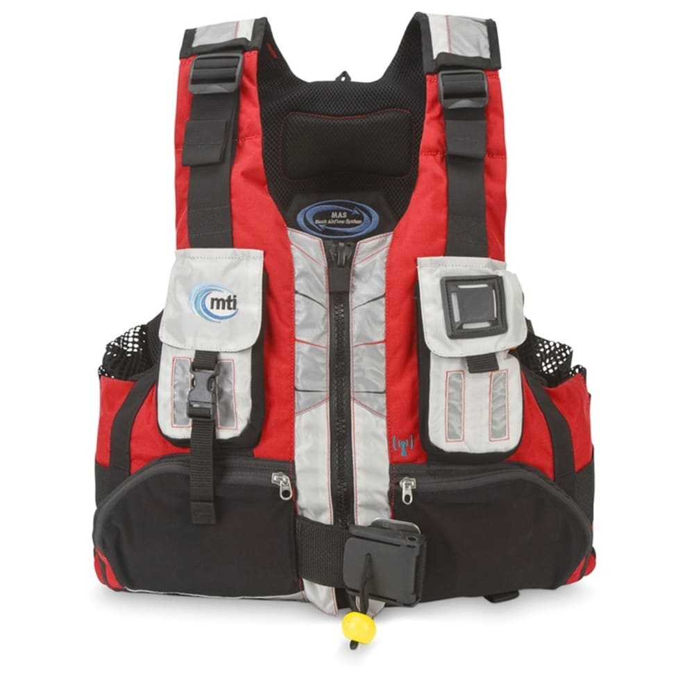 MTI Headwater R-Spec PFD - RED/ALUM