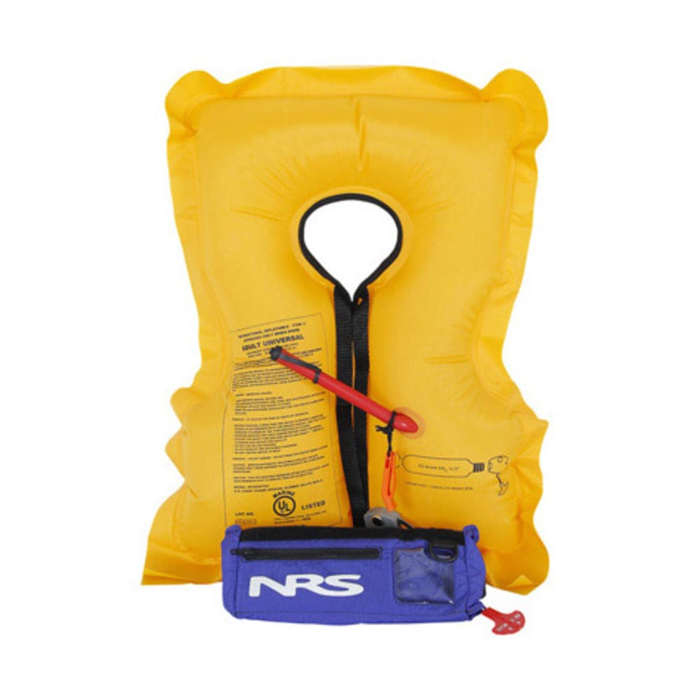 NRS Big Kahuna Inflatable PFD - YELLOW