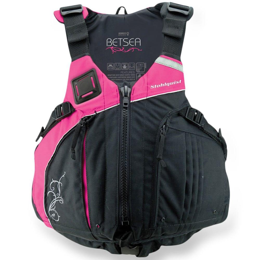 STOHLQUIST Women's BetSea Life Vest - PINK/BLACK