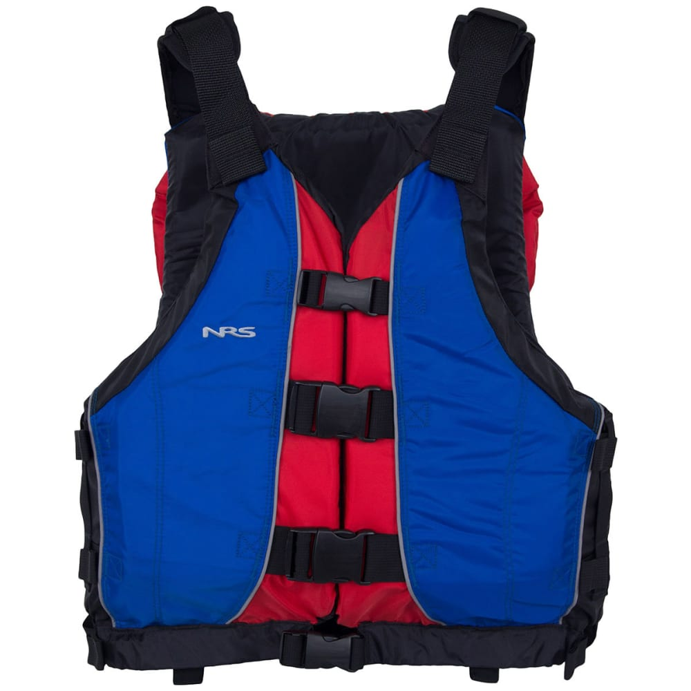 NRS Big Water V PFD - BLUE/RED
