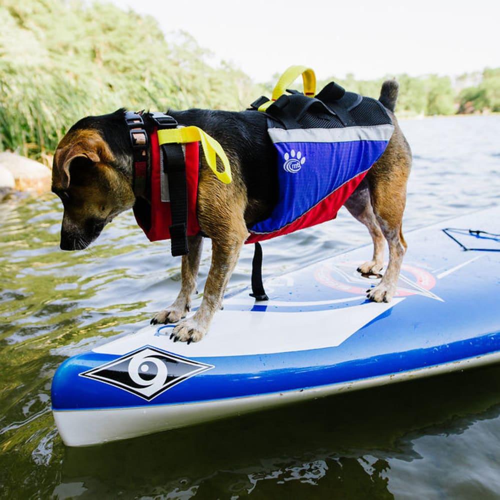 MTI UnderDog Canine Life Jacket - BLACK/GRAY