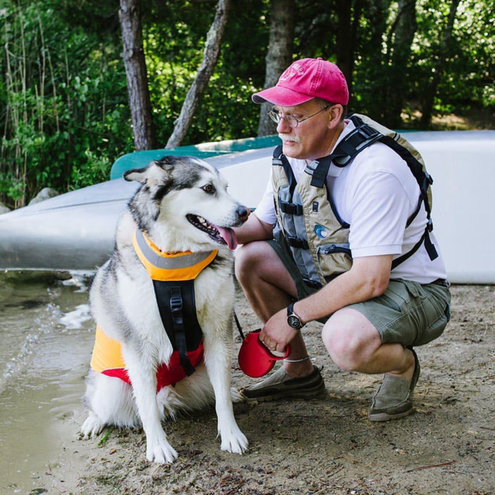 MTI UnderDog Canine Life Jacket - RED/MANGO