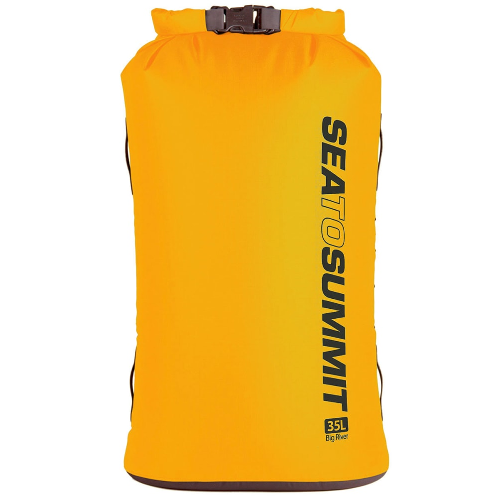 SEA TO SUMMIT Big River Dry Bag, 35 L - YELLOW