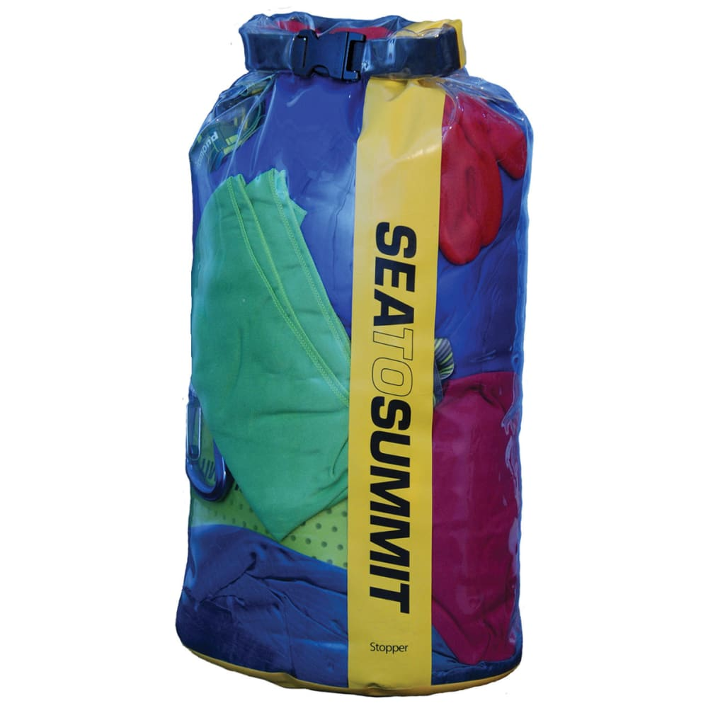 SEA TO SUMMIT Clear Stopper Dry Bag, 8 L - YELLOW
