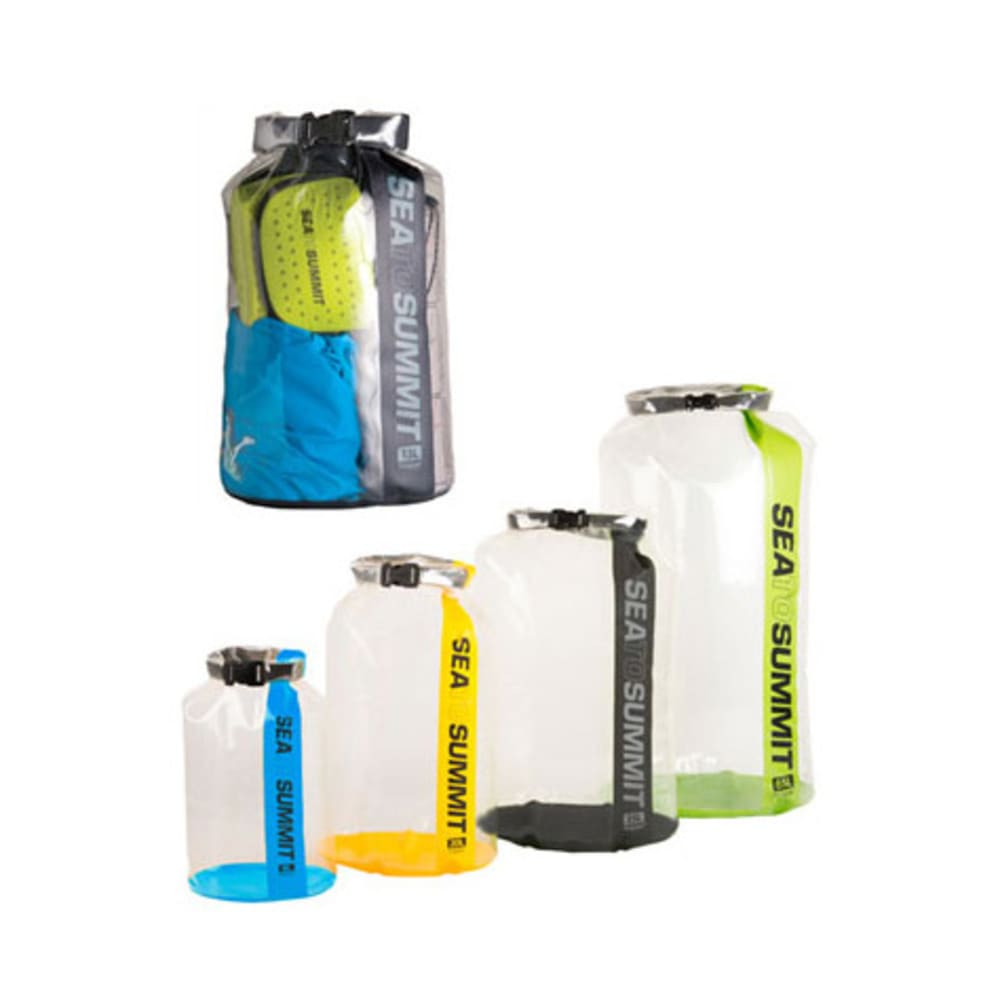 SEA TO SUMMIT Clear Stopper Dry Bag, 13 L - YELLOW