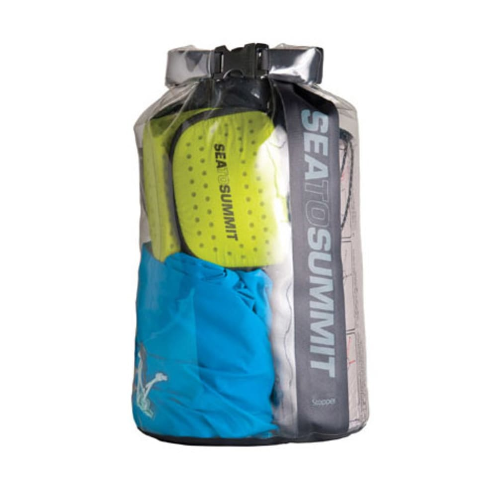 SEA TO SUMMIT Clear Stopper Dry Bag, 20 L - BLACK