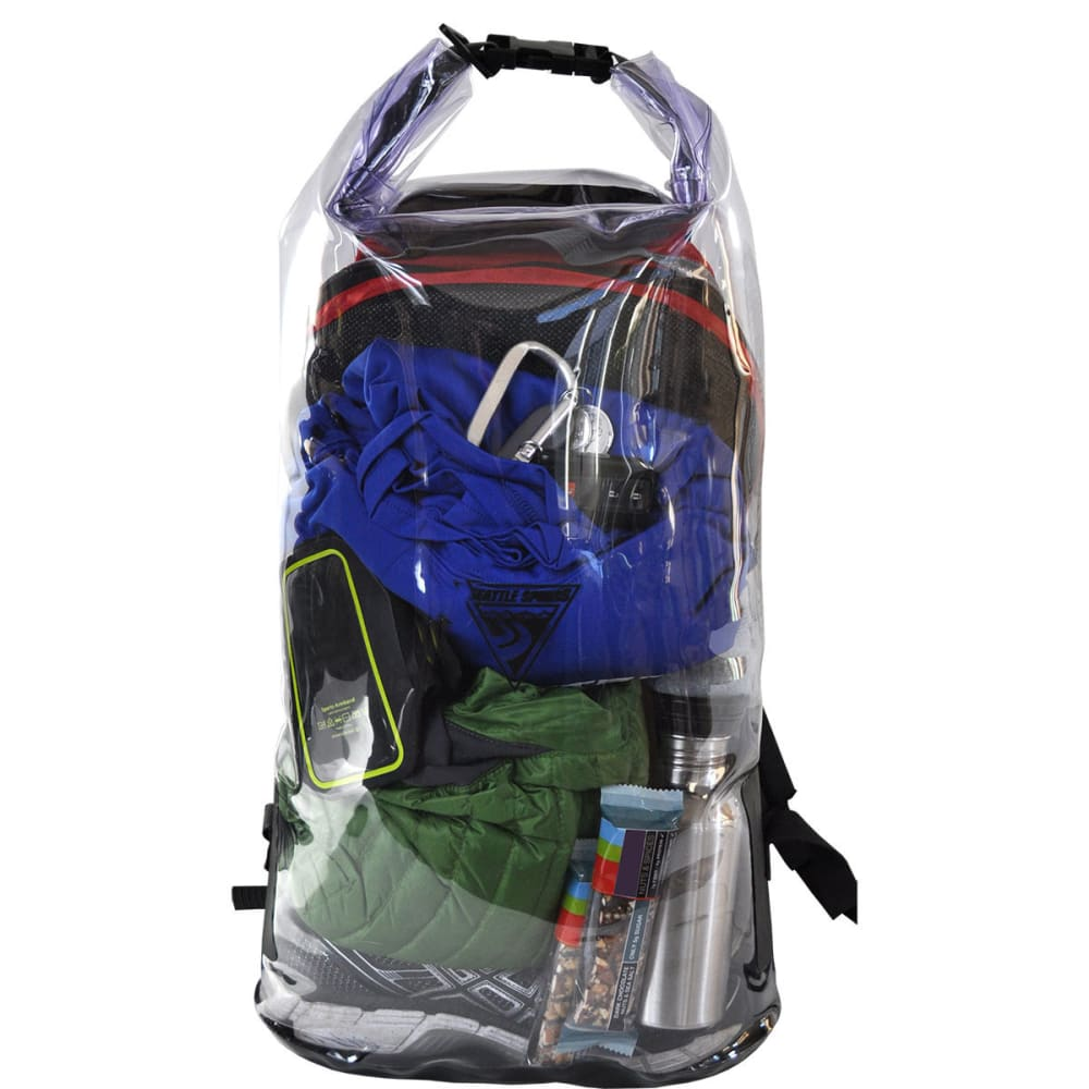 SEATTLE SPORTS See-Through Security Dry Bag - CLEAR