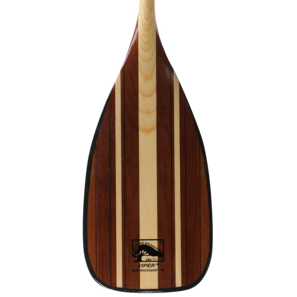 BENDING BRANCHES Viper Double Bend Canoe Paddle - WOOD