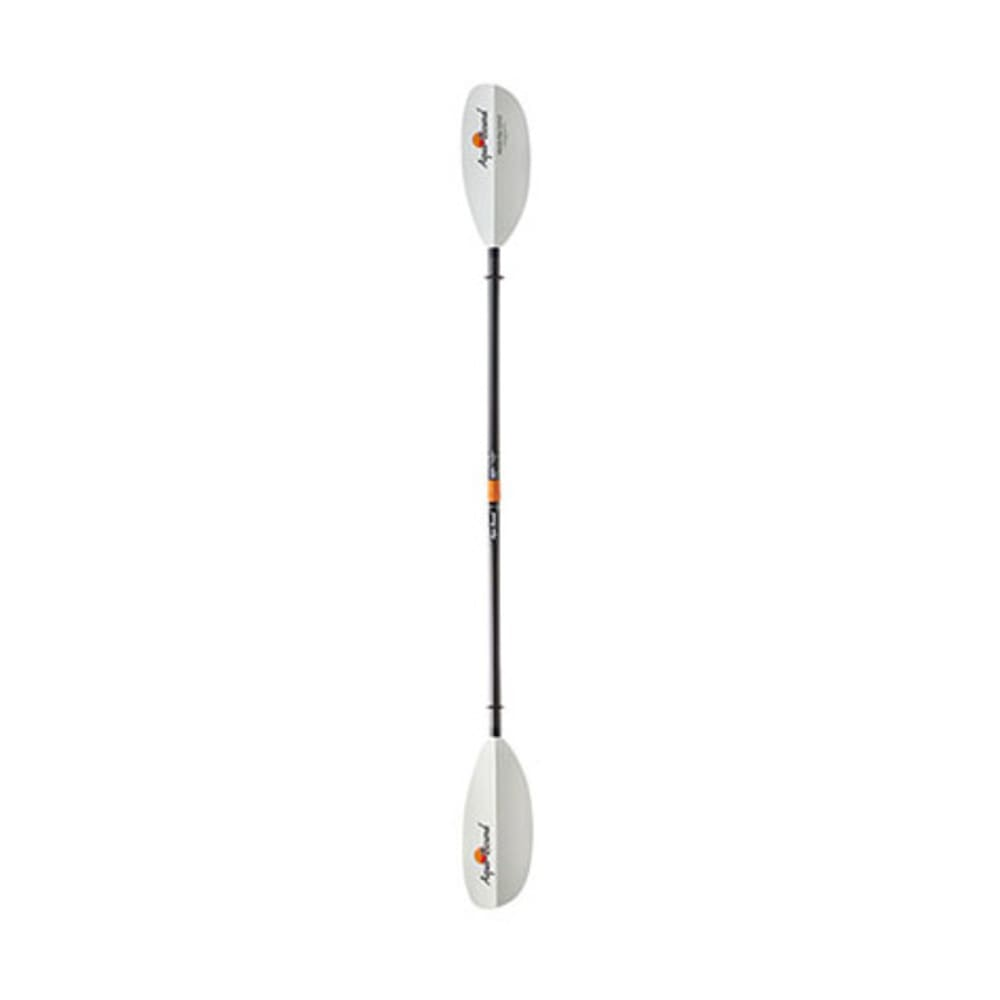 AQUA-BOUND Manta Ray Hybrid Kayak Paddle, 2-Piece, Posi-Lok - WHITE