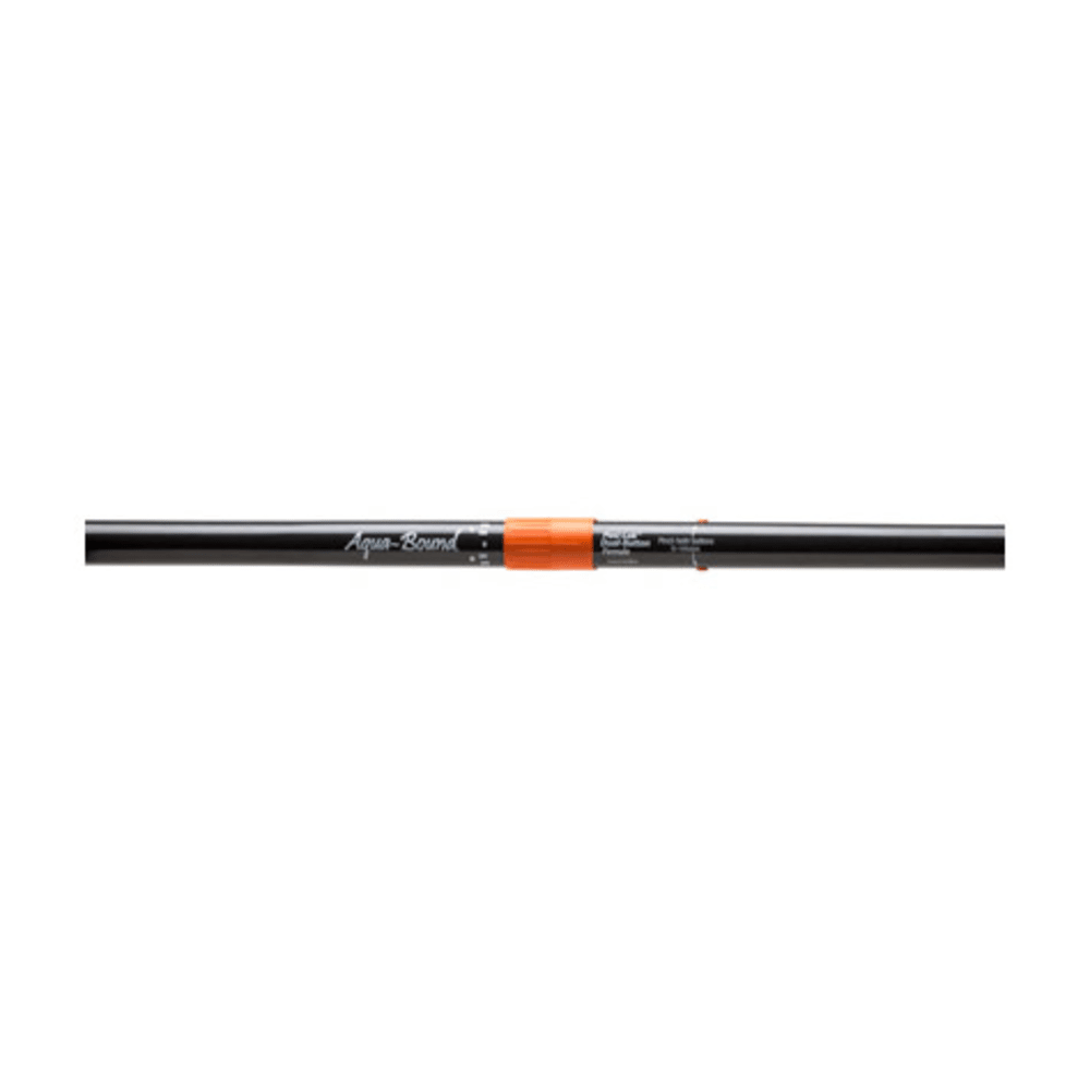 AQUA-BOUND Sting Ray Hybrid Kayak Paddle, 2-Piece, Posi-Lok, Small Diameter Shaft - BLACK/WHITE