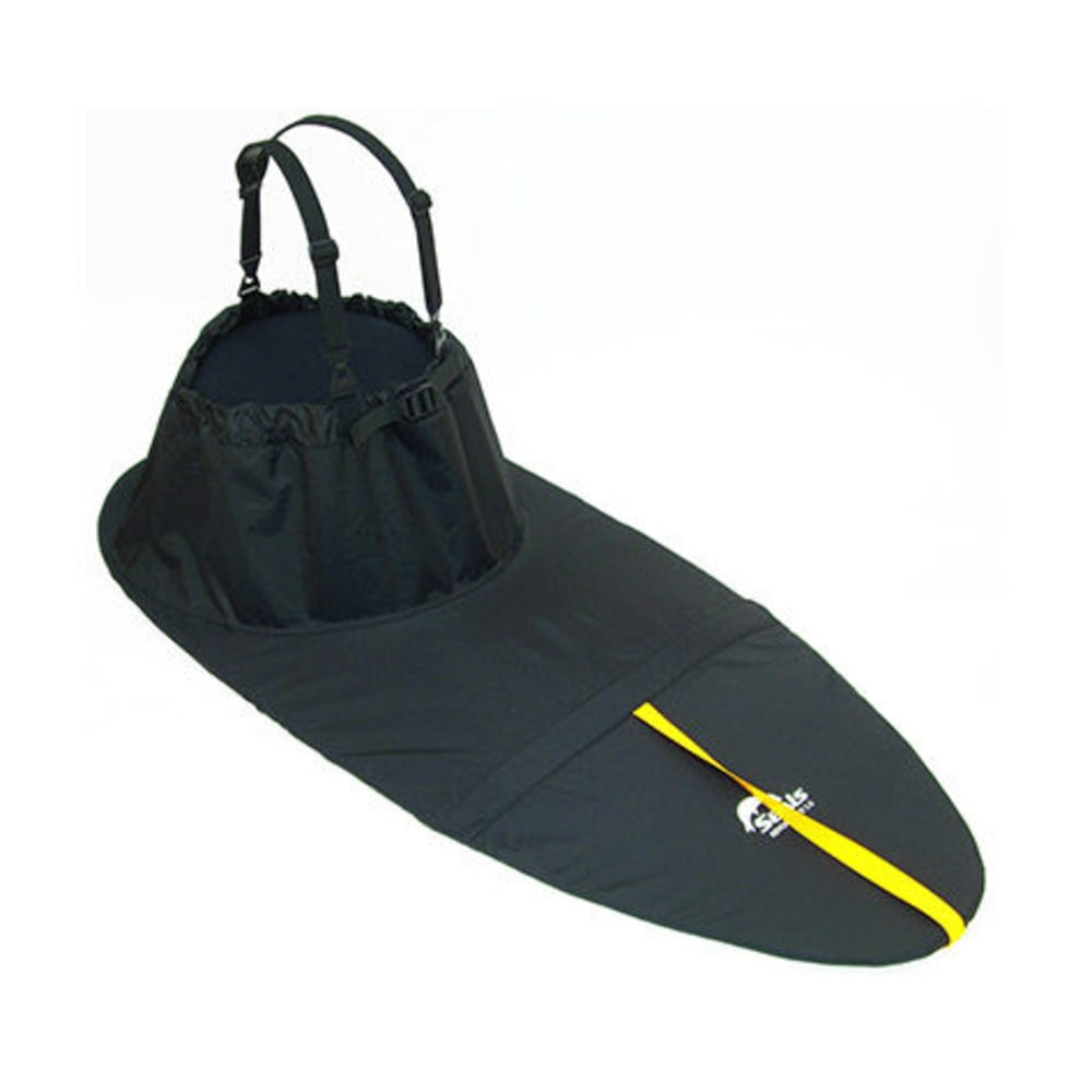 SEALS Adventurer Sprayskirt, 5.0 - BLACK