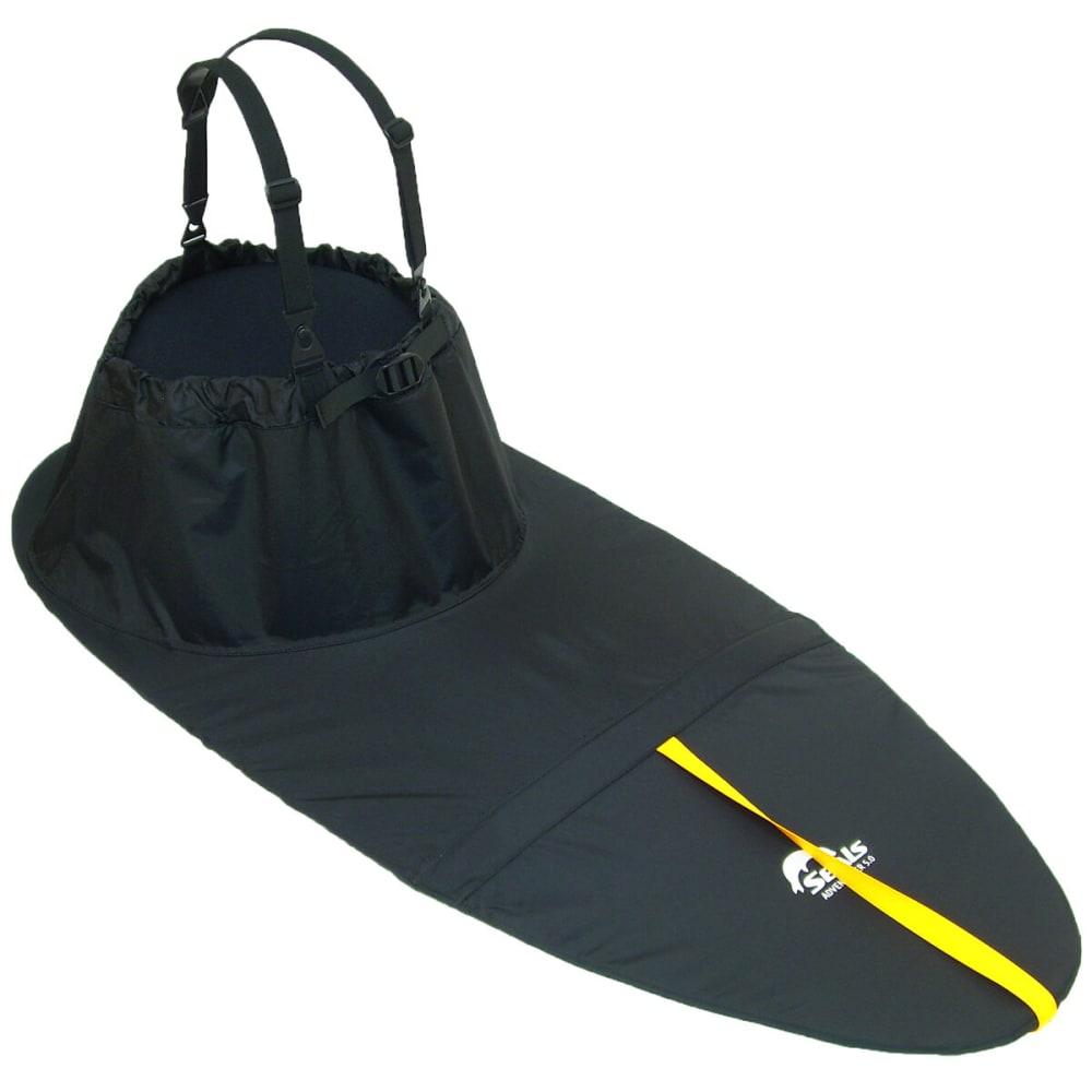 SEALS Adventurer Sprayskirt, 6.7 - BLACK