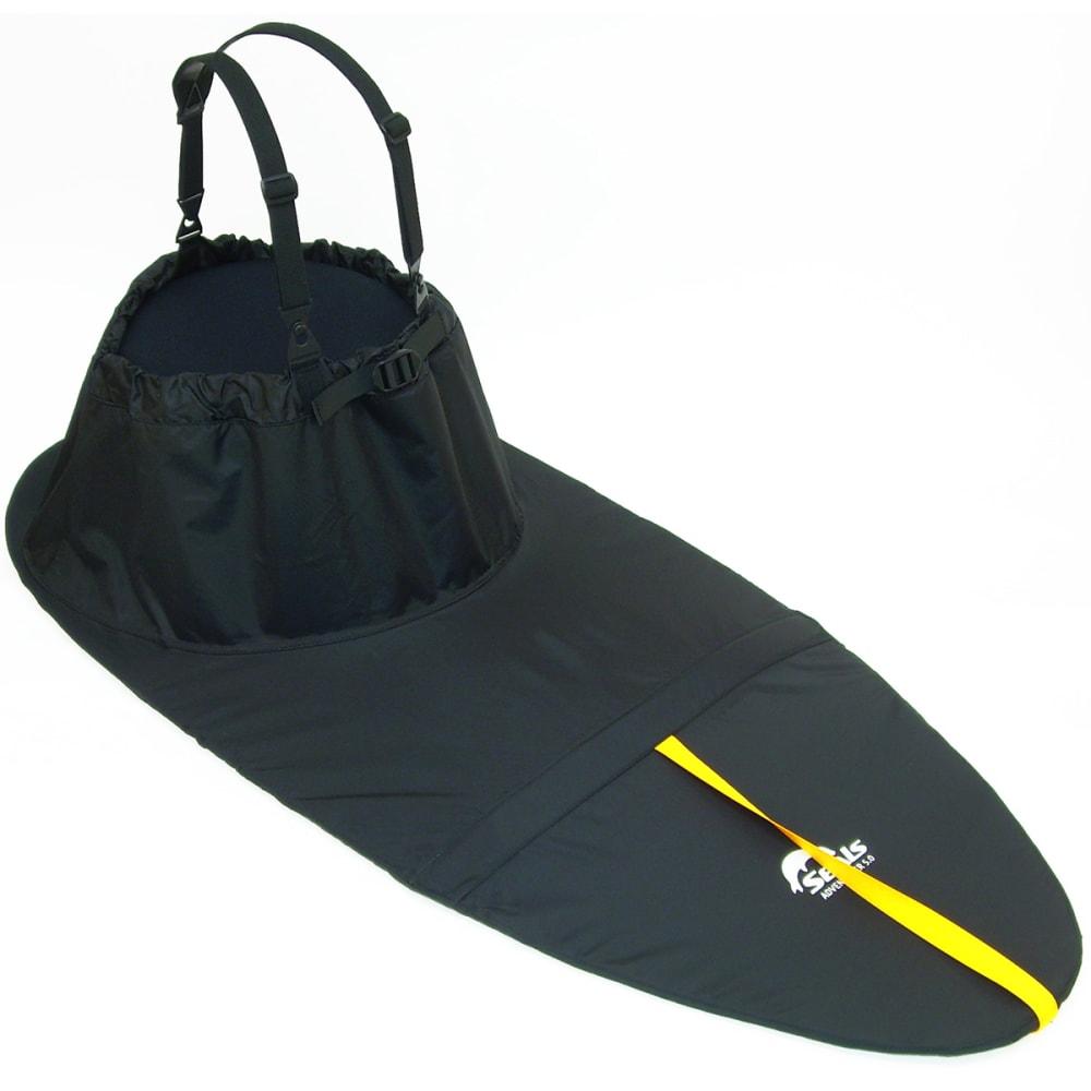 SEALS Adventurer Sprayskirt, 5.2 - BLACK