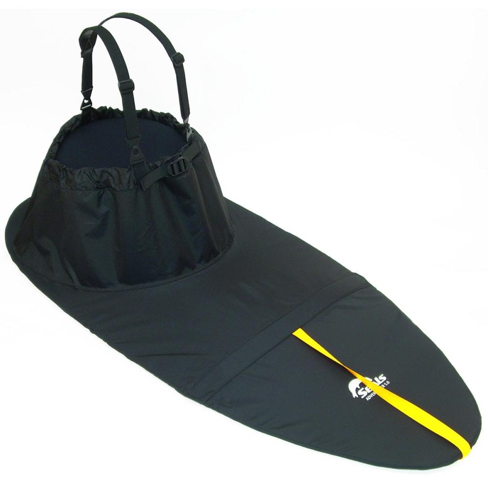 SEALS Adventurer Sprayskirt, 5.7 - BLACK
