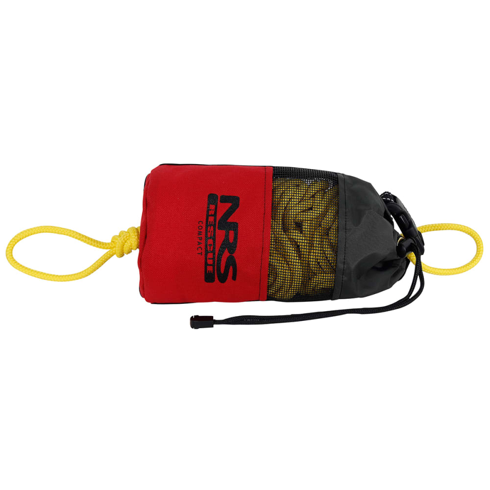 NRS Compact Rescue Throw Bag - RED