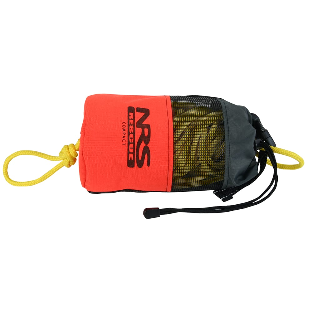 NRS Compact Rescue Throw Bag - ORANGE