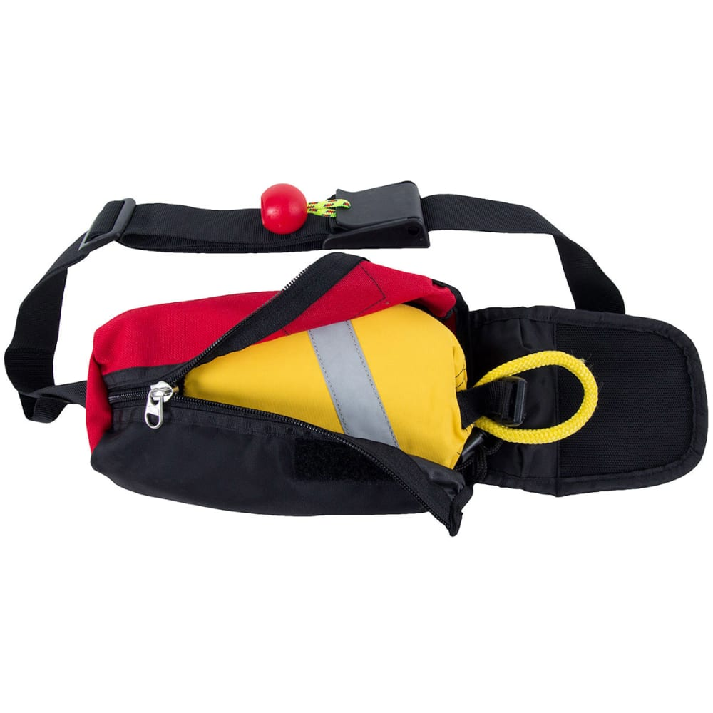 NRS Guardian Wedge Waist Throw Bag - RED/BLACK