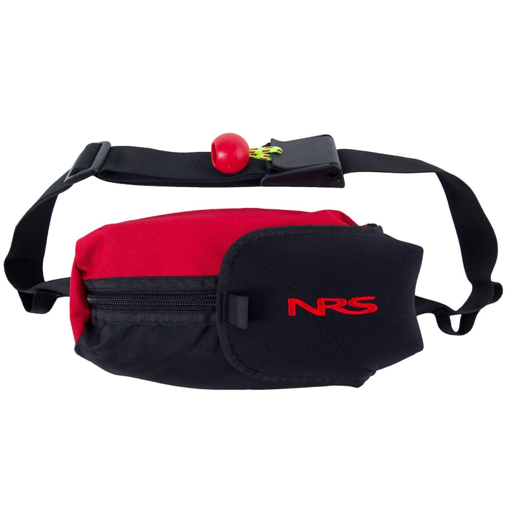 NRS Guardian Wedge Waist Throw Bag - RED/BLACK