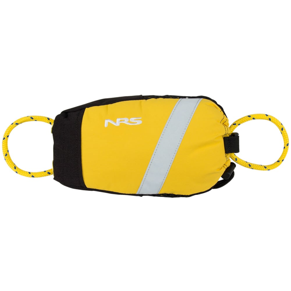 NRS Pro Guardian Wedge Waist Throw Bag - YELLOW/BLACK