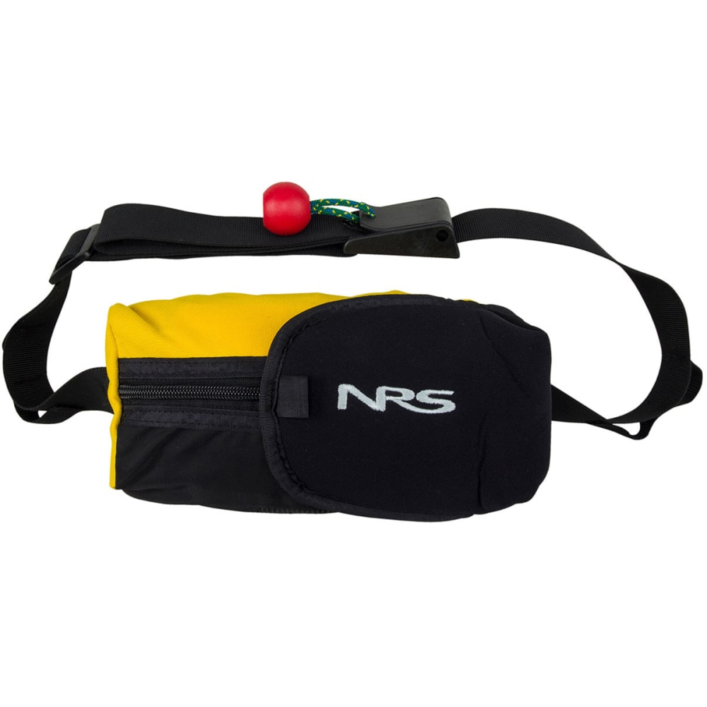 NRS Pro Guardian Wedge Waist Throw Bag - YELLOW/BLACK