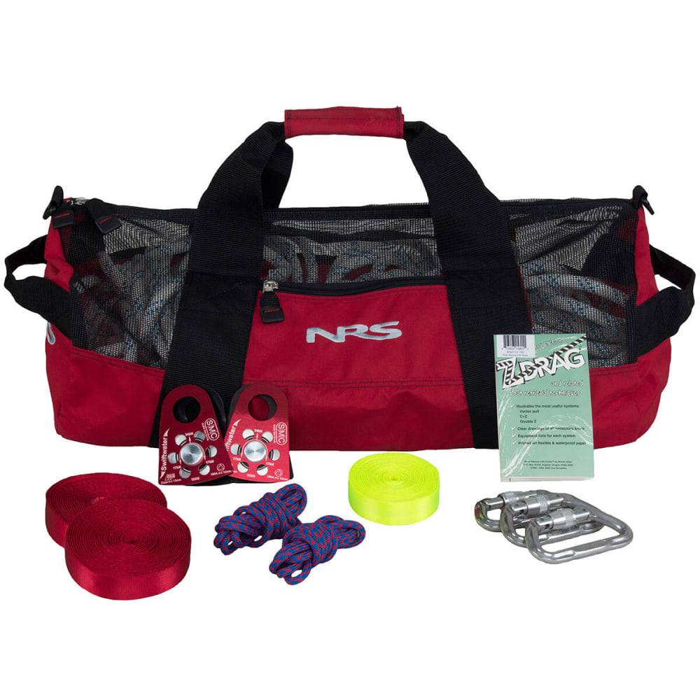 NRS Z-Drag Kit with Purest Duffel Bag - RED