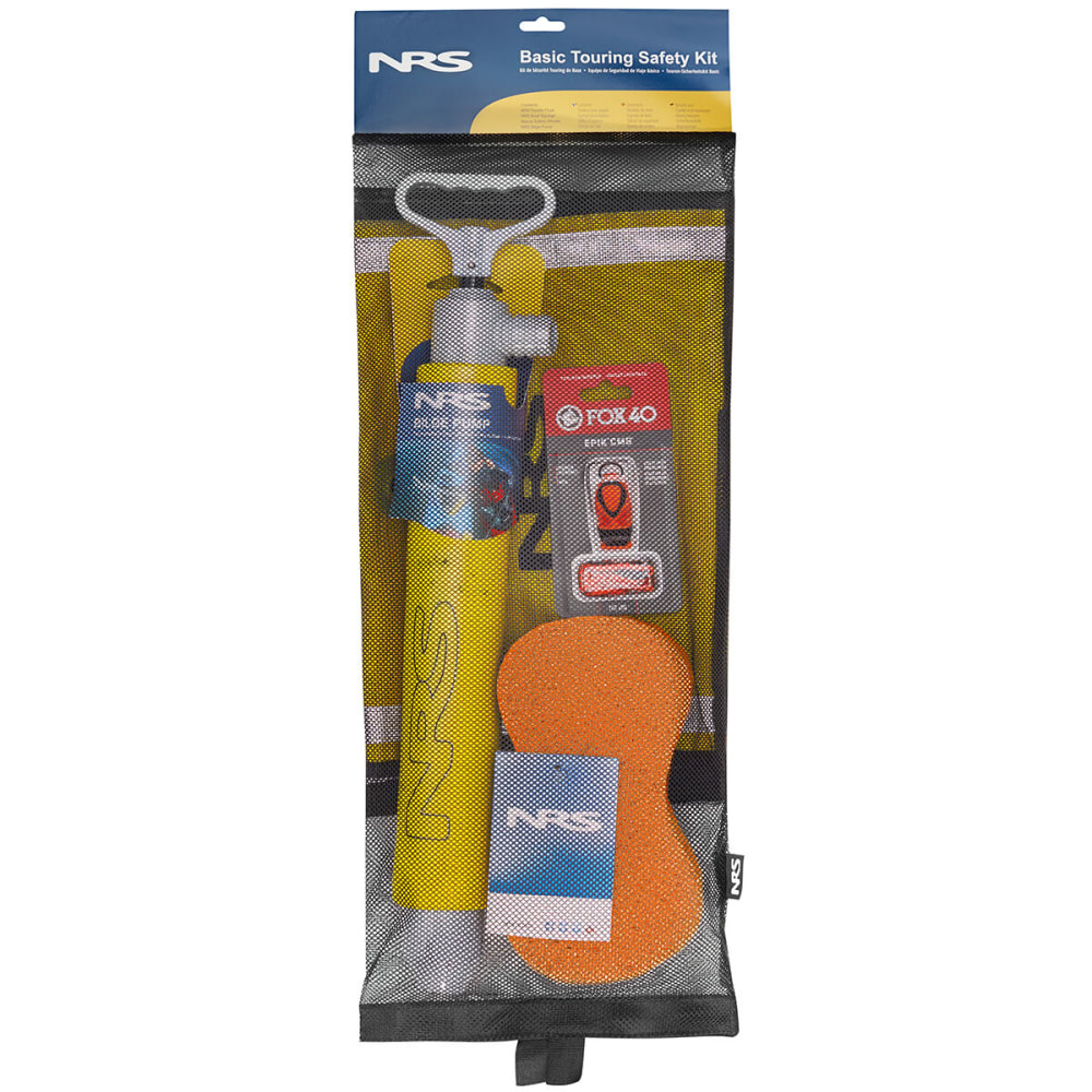 NRS Basic Touring Safety Kit - YELLOW