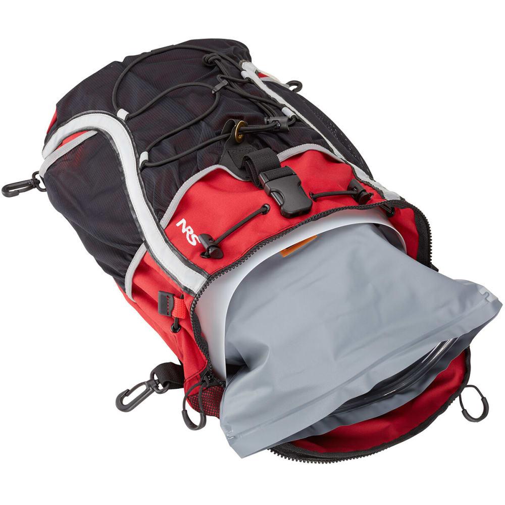 NRS Taj M'Haul Deck Bag - RED/BLACK