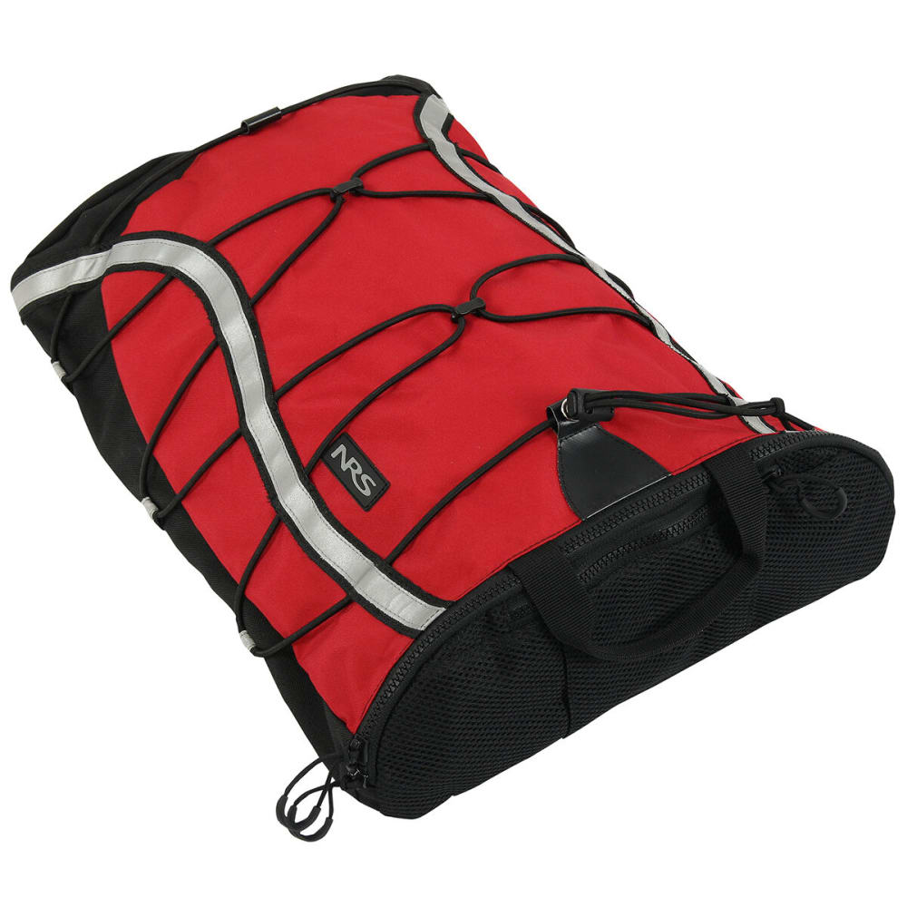 NRS Overhaul Deck Bag - RED/BLACK