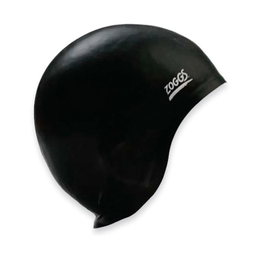 ZOGGS Ultra Fit Swim Cap - BLACK