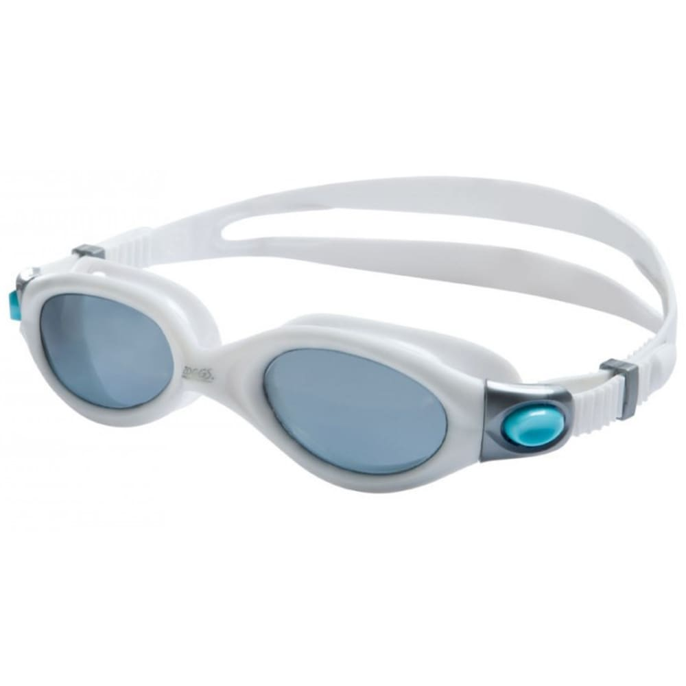 ZOGGS Women's Athena Polarized Swim Goggles - WHITE/AQUA