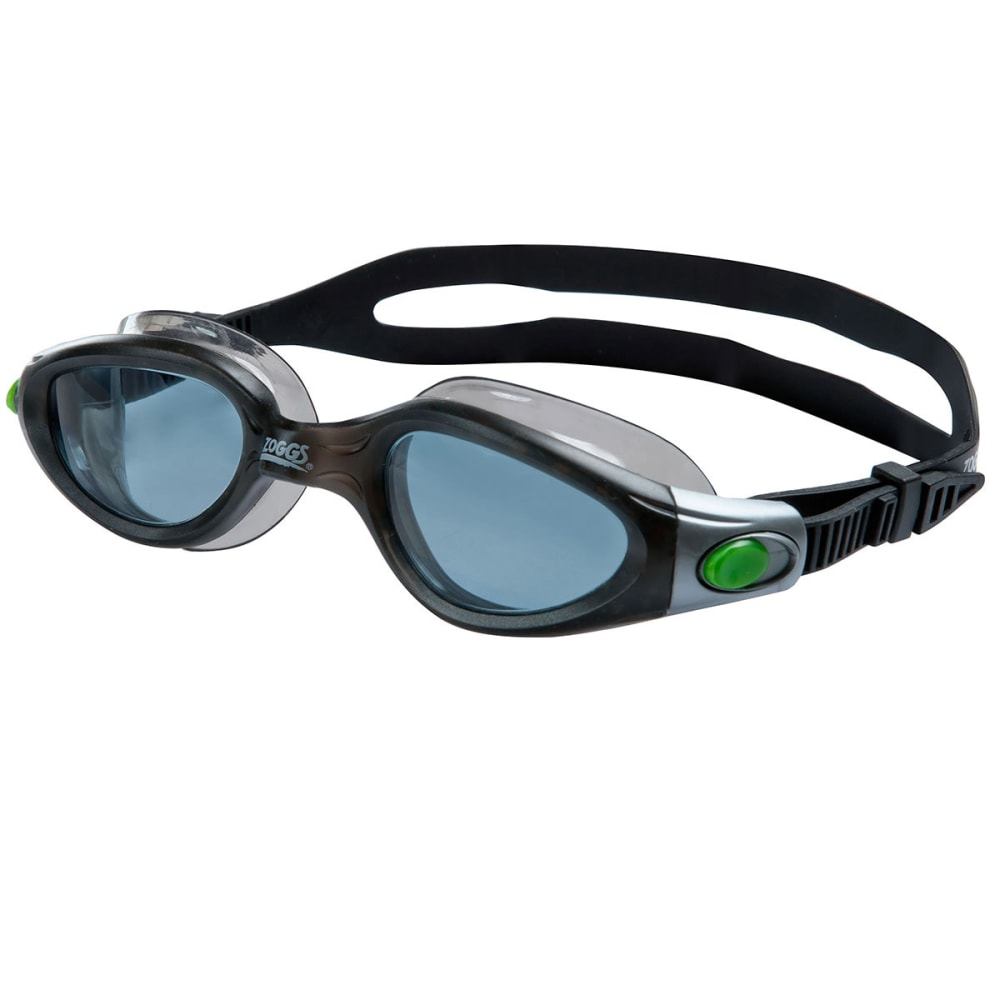 ZOGGS Phantom Elite L/XL Swim Goggles - BLACK/SMOKE