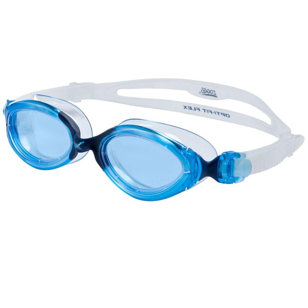 ZOGGS Women's Opti Fit L/XL Swim Goggles - BLUE/BLUE
