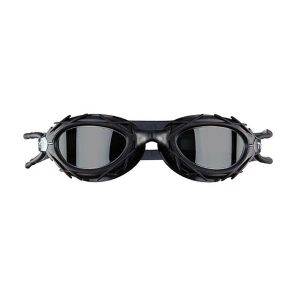 TYR Nest Pro Mirrored Swim Goggles - TITANIUM