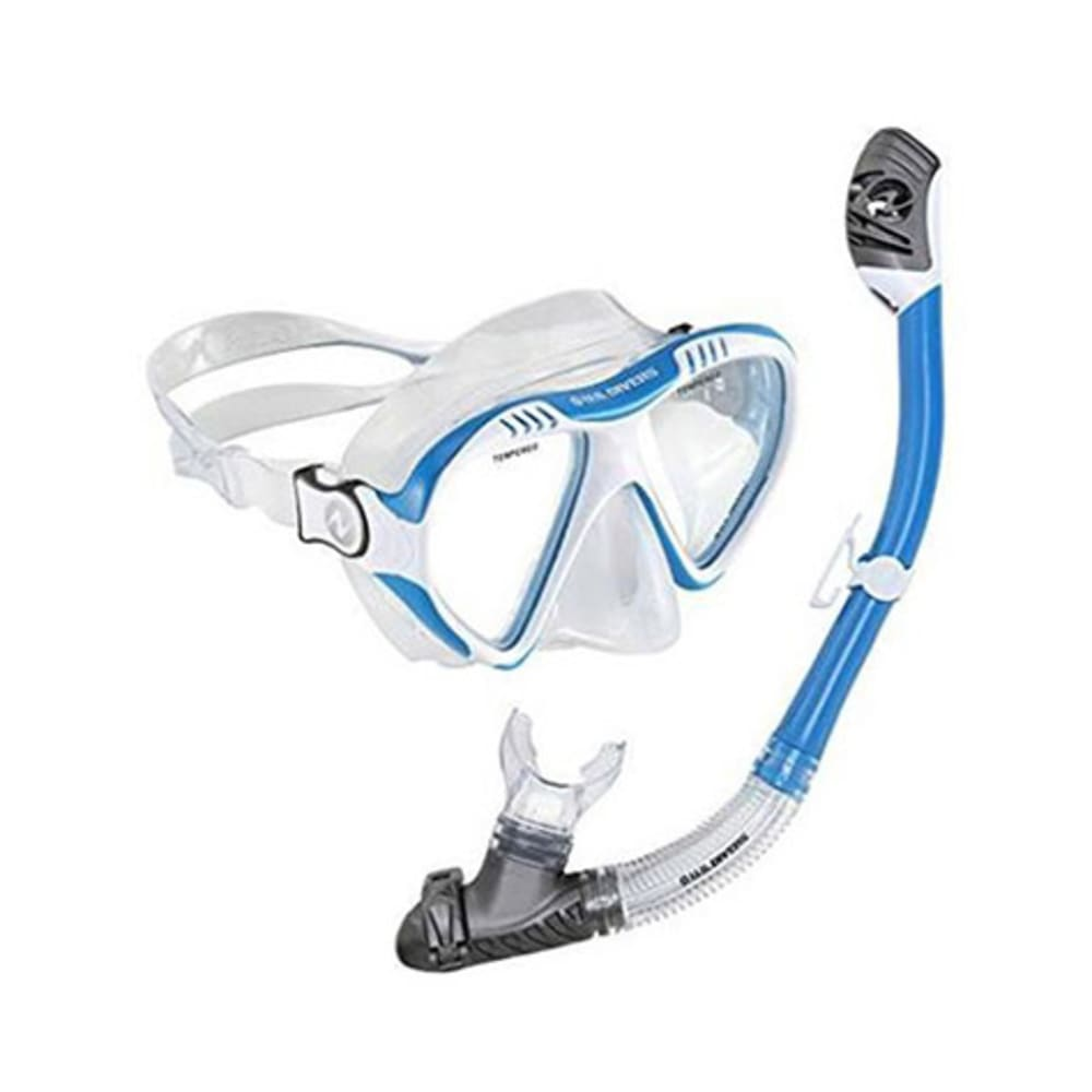 US DIVERS Magellan LX/Tucson LX Mask and Snorkel Set - COBALT