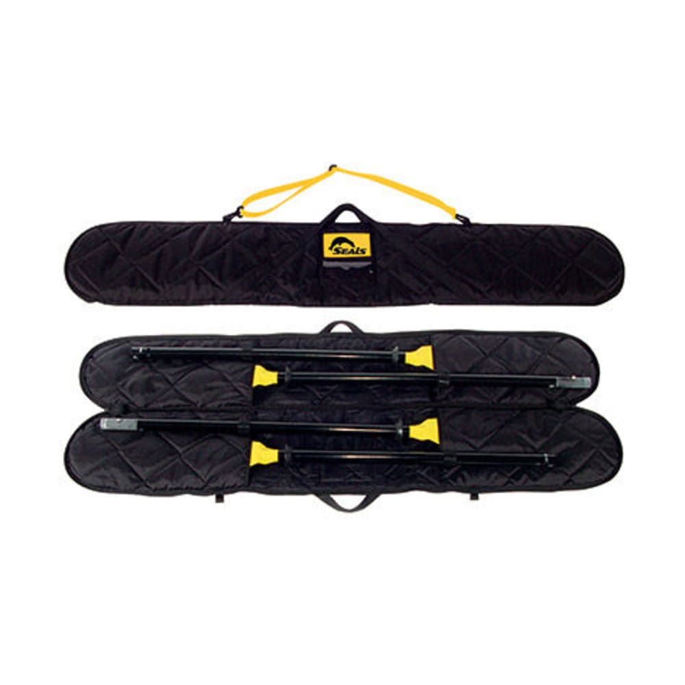 SEALS Two-Piece Kayak Paddle Bag - BLACK
