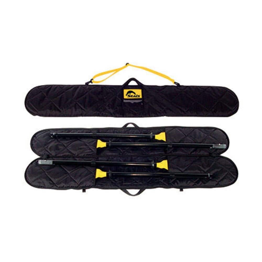 SEALS Two-Piece Kayak Paddle Bag - BLACK