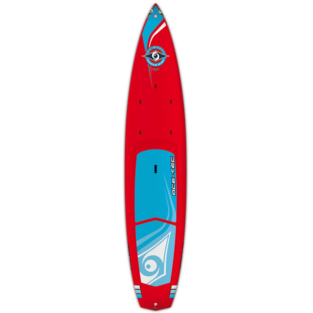 """BIC Ace-Tec Wing 12'6"""" LTD Stand Up Paddleboard - RED"""
