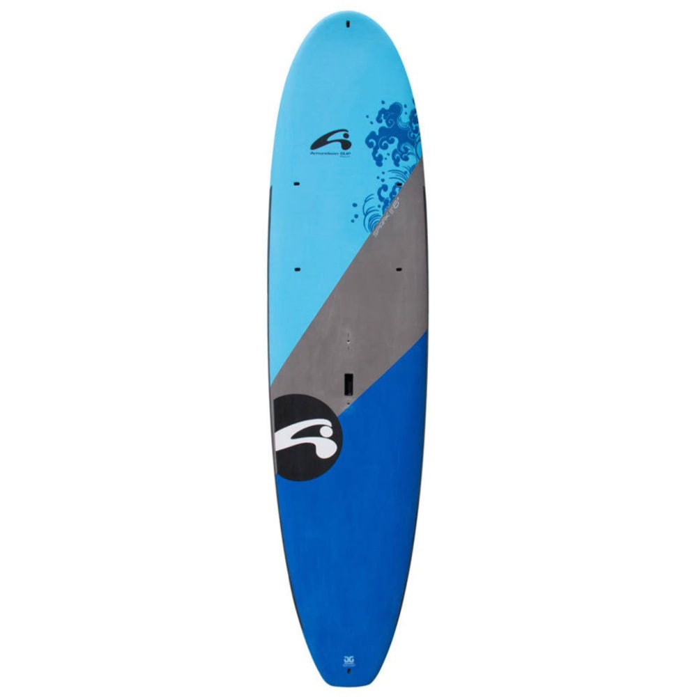 "AMUNDSON Spark 11'6"" Stand Up Paddleboard with Soft Deck  - BLUE/GREY"