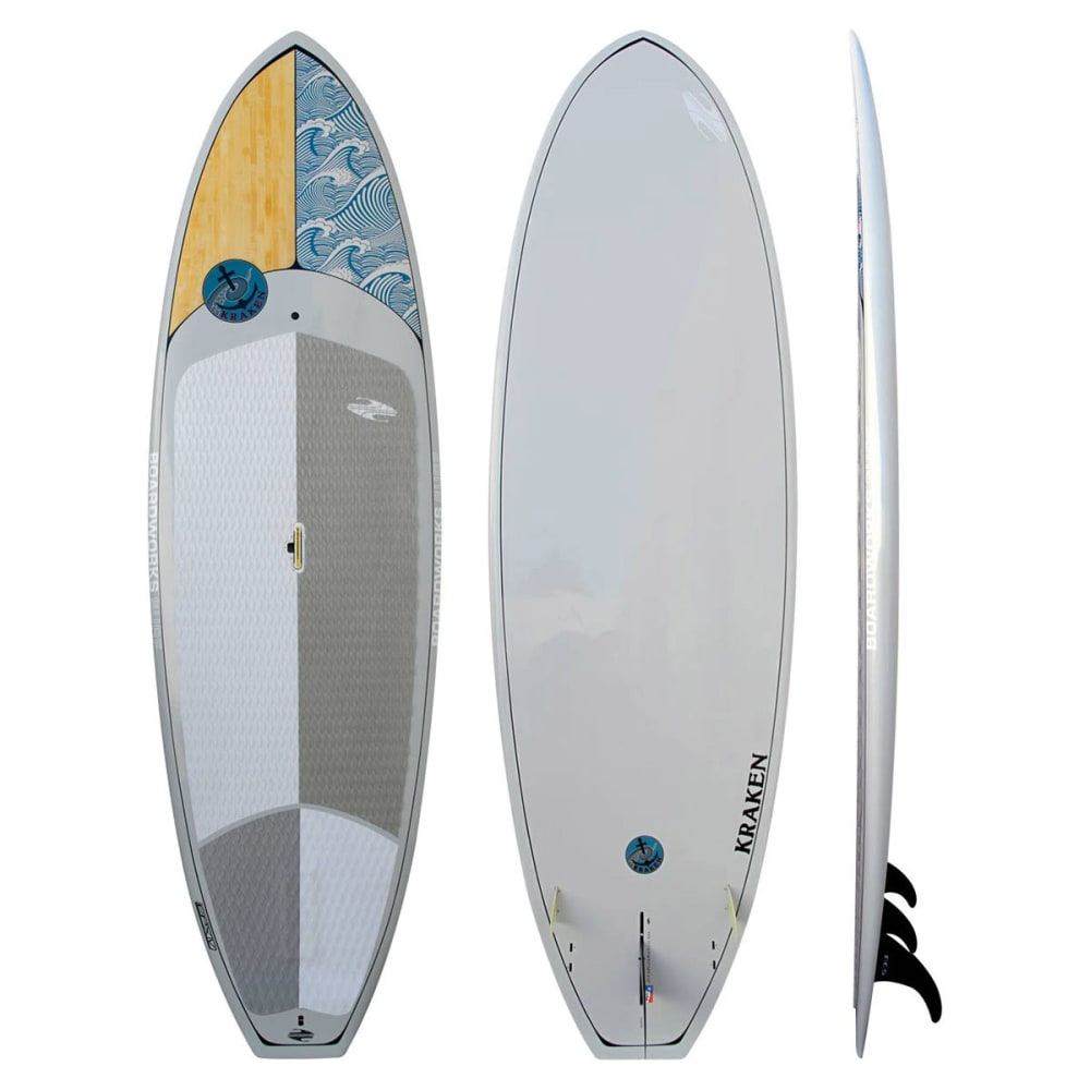 BOARDWORKS Kraken 11' Stand up Paddleboard  - LIGHT GREY