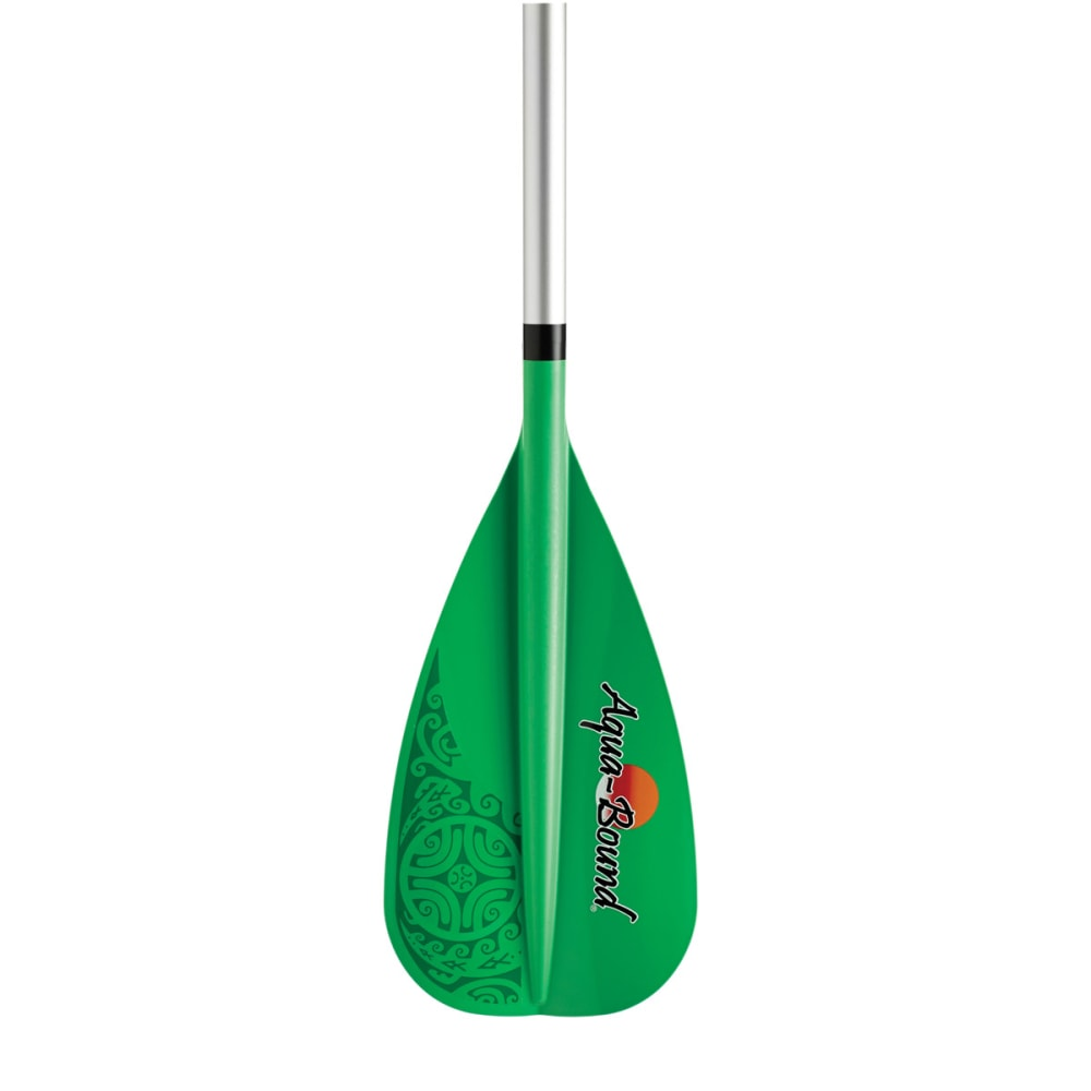 AQUA-BOUND SparkStand Up Paddle, 2-Piece - GREEN