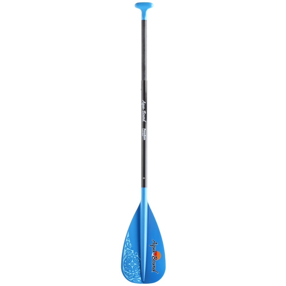 AQUA-BOUND Freedom Stand Up Paddle, 4-Piece - BLUE