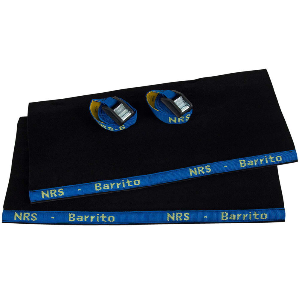 NRS Barrito Car Rack Wrap with Straps - BLACK
