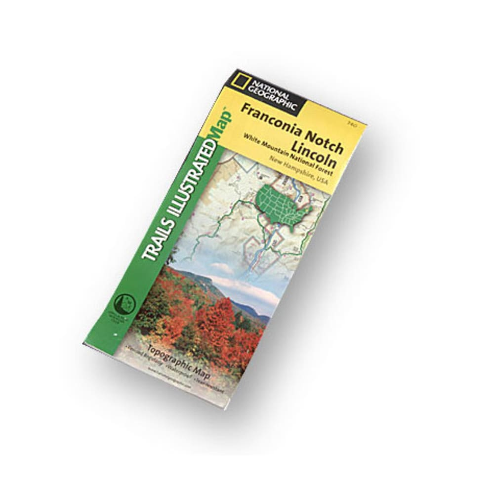 NAT GEO Franconia Notch Map - NONE