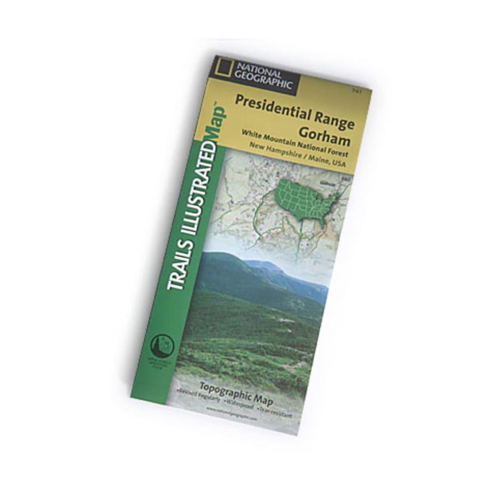 NAT GEO Presidential Range Map NA